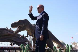 Erdogan a atacat opoziţia printre