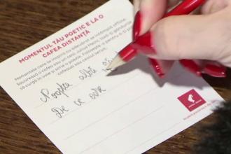 Ce a scris o tânără pe hârtie pentru o cafea gratis. S-a întâmplat în mai multe cafenele din ţară