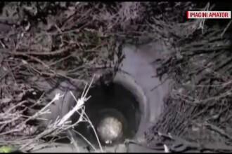 O fată de 15 ani a căzut într-o fântână părăsită din Caracal. A fost scoasă în hipotermie