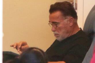 Arnold Schwarzenegger, surprins de paparazzi la un salon de înfrumusețare. GALERIE FOTO