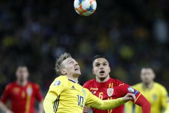 Suedia - România 2-1. Ocazie urișă ratată la ultima fază de Săpunaru