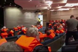 Au fost evacuate persoanele aflate pe vasul de croazieră din Norvegia. Sunt 16 răniți