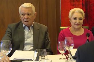 Premierul Dăncilă s-a întâlnit cu oameni de afaceri din SUA. VIDEO oficial fără sunet