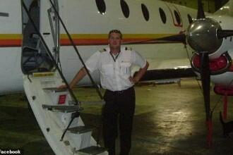 Momentul în care un bărbat se prăbușește cu un avion furat. Voia să-și ucidă soția