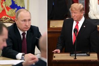 Reacția lui Putin după ce Trump nu a fost găsit vinovat de complicitate cu Rusia