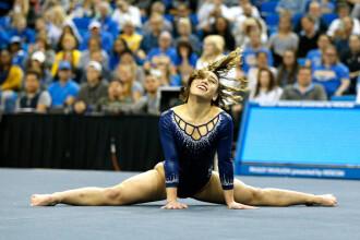 Katelyn Ohashi, a doua notă de 10 la sol. Exercițiul ei a devenit viral. VIDEO