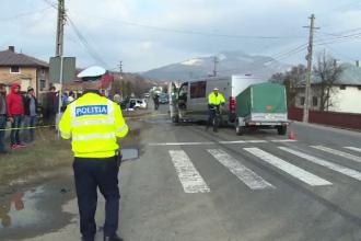 Accident în lanț în Bistrița-Năsăud. O întreagă familie a ajuns la spital