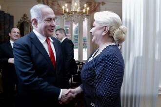 Viorica Dăncilă l-a sunat pe premierul Israelului. Ce au discutat cei doi oficiali