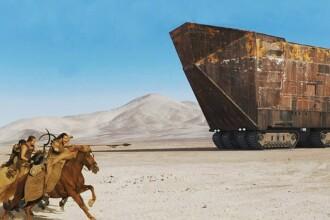 Cum arată hotelul care l-a inspirat pe creatorul Star Wars. GALERIE FOTO