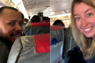 """Reacția echipajului unui avion care a aterizat în orașul greșit. """"Vă rugăm să nu filmați"""""""