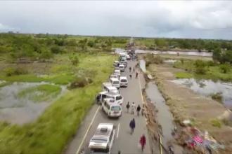 Filmare cu drona: ce a rămas după ciclonul Idai, care a afectat 1,5 milioane de oameni