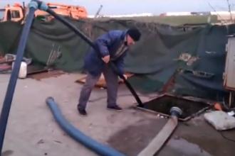 România, o toaletă în curtea Europei! Filmare revoltătoare cu dejecții aruncate în public