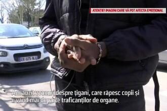 Mitul ambulanței care fură copii a ajuns în Franța. Măsuri după atacuri asupra țiganilor
