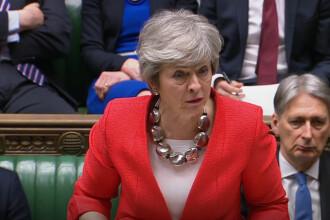 Parlamentul britanic a aprobat planul premierului Theresa May privind Brexit