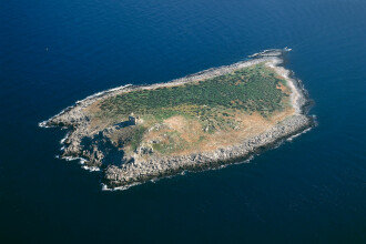 Insulă părăsită scoasă la vânzare. Prețul cerut de proprietar este surprinzător