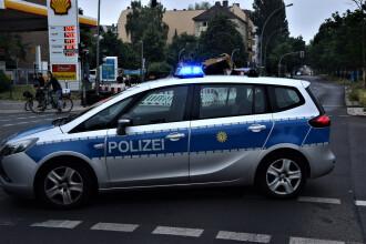 Trafic blocat pe o șosea germană din cauza unui șofer cu pantalonii în flăcări