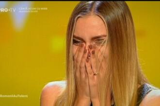 """Românii au talent. O studentă la medicină a primit Golden Buzz. Călinescu: """"Îmi donez corpul"""""""