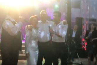 """VIDEO cu Dragnea la nunta Olguței Vasilescu, la 7 zile după ce a avut """"dureri măricele"""""""