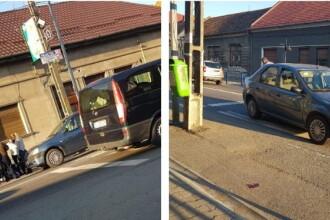 Primarul şi un poliţist, loviţi pe trecerea de pietoni în acelaşi oraş la 3 minute diferență