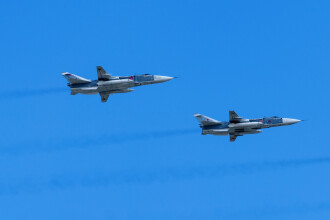 Turcia a doborât 2 avioane militare ale regimului Assad, în nordul Siriei. VIDEO