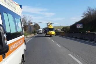 Apel disperat al unei românce, pe o autostradă din Italia.