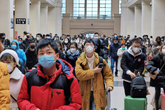 Coronavirus în China. 125 de cazuri noi, cel mai scăzut număr după 21 ianuarie