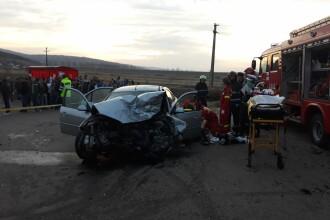 Accident grav în județul Vaslui, în care 2 persoane au murit. A fost activat planul roșu VIDEO