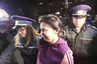 Sorina Pintea a fost dusă din nou la spital. Imagini de la Policlinica MAI
