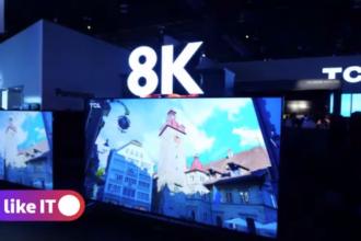 CES Las Vegas 2020, dominat de televizoare. Cum arată ecranele 8K