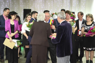 Cum au sărbătorit 50 de ani de căsnicie mai multe cupluri din Dâmbovița