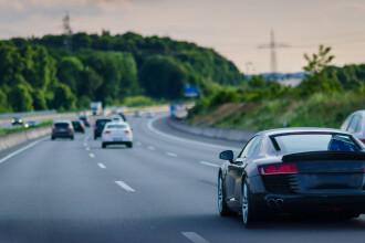 Amenda uriașă primită de un șofer prins în timp ce conducea cu 238 km/h pe autostrada A3