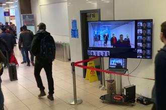 Termoscannerele pentru coronavirus, în funcțiune pe Aeroportul Otopeni
