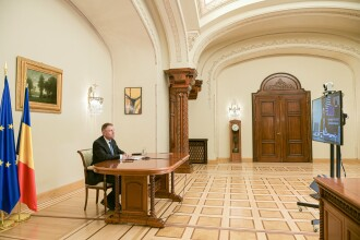 Klaus Iohannis cere liderilor europeni activarea Mecanismului de Protecţie Civilă al UE