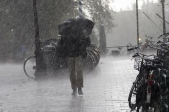 Vreme instabilă în țară. Unde vor fi ploi și fenomene electrice