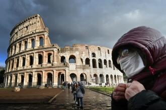 Italia confirmă alte 349 decese cauzate de COVID-19. Bilanțul a crescut cu 19% în 24h