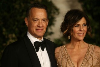 """Tom Hanks și Rita Wilson donează sânge pentru a ajuta la crearea unui vaccin împotriva Covid-19: """"Îl numesc Hank-cin"""""""