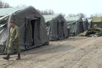 Armata construiește un spital în 5 zile pentru bolnavii de coronavirus