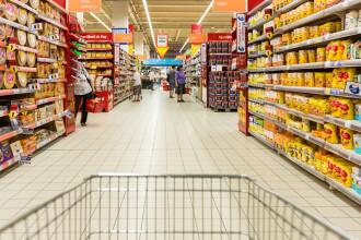 Ministrul Economiei: Stocurile de alimente sunt suficiente, nu trebuie să cumpărați în exces