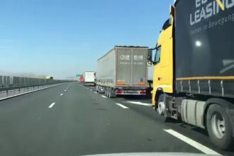 Măsuri speciale pentru transporturile de marfă. Controale rapide la frontiere