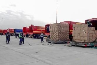 VIDEO. România a primit 45 de tone de echipamente medicale din Coreea de Sud