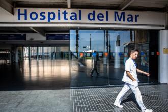 Gest emoționant într-un spital din Spania. Cum a fost anunțat un tânăr că tatăl său respiră singur