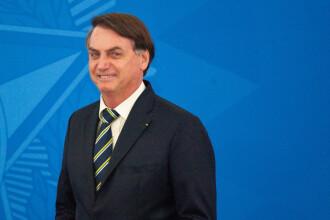 """Bolsonaro spune că a rămas cu """"mucegai în plămâni"""", după ce s-a îmbolnăvit de Covid-19"""