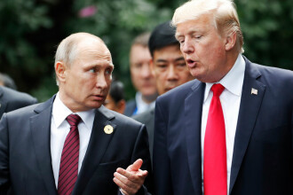 """Kremlin: Vladimir Putin nu-l poate """"juca pe degete"""" pe Donald Trump"""