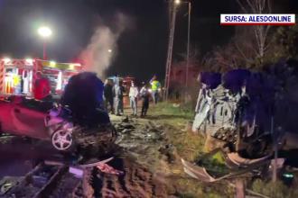 Un tânăr de 19 ani din Oradea a murit într-un teribil accident rutier