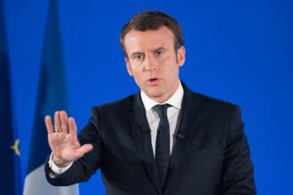 Emmanuel Macron a anunţat carantină o lună: