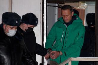 Susţinători ai lui Navalnîi, condamnaţi pentru că s-au adunat în faţa penitenciarului unde este închis opozantul