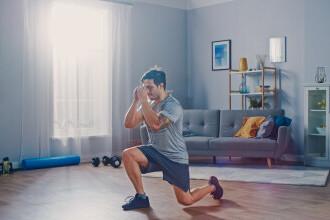 Sport în pandemie prin HomeClass MedLife. Cum îți formezi obișnuința de a face sport?