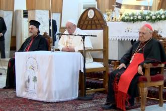 Papa Francisc face o vizită istorică în Irak. Este primul Suveran Pontif care ajunge în țara musulmană