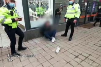 Un bărbat a spart 7 aparate într-o sală de jocuri din Iași. Ce i-a căzut din buzunar când a fost imobilizat