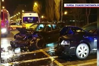 Accident grav în Mamaia, după ce un șofer a intrat pe contrasens. În ce stare se află victimele